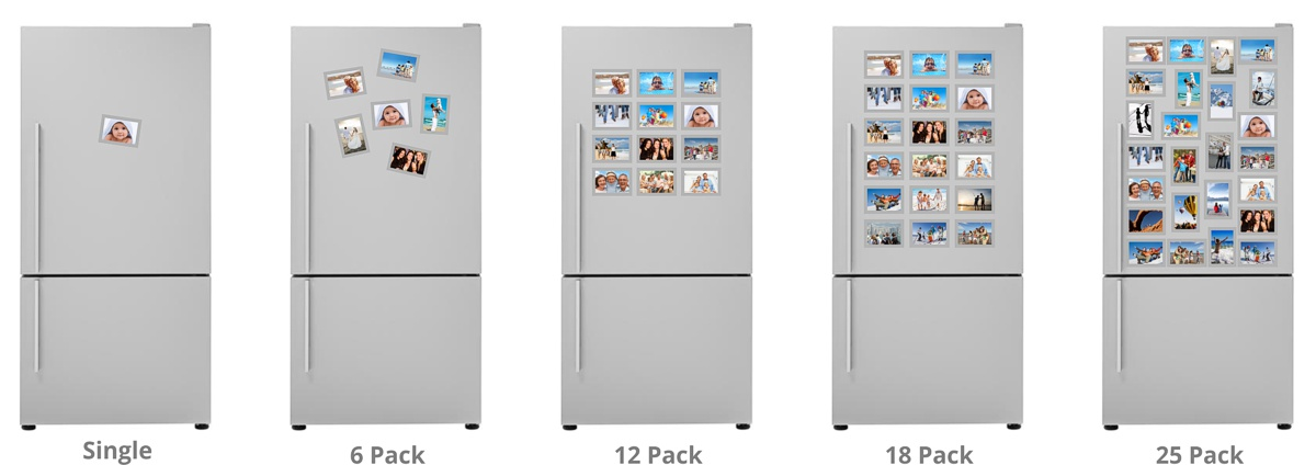 Fridgi magnetic fridge frames for all your favourite photos